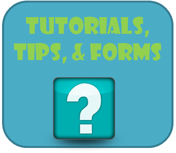 tips and forms button