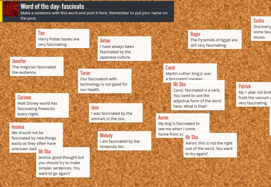 FREE INTERACTIVE NOTE BOARDS WITH PADLET