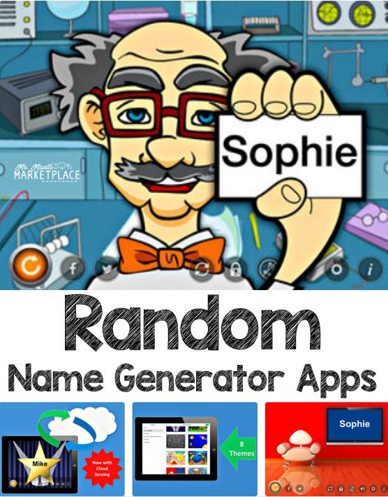 Random Name Generators - Mr  Mault's Marketplace