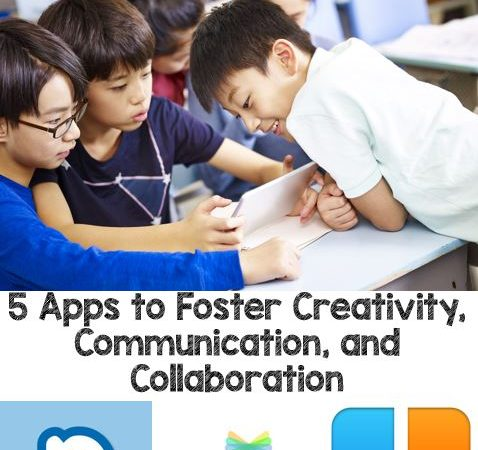 Using iPads to Foster Creativity, Communication, and Collaboration