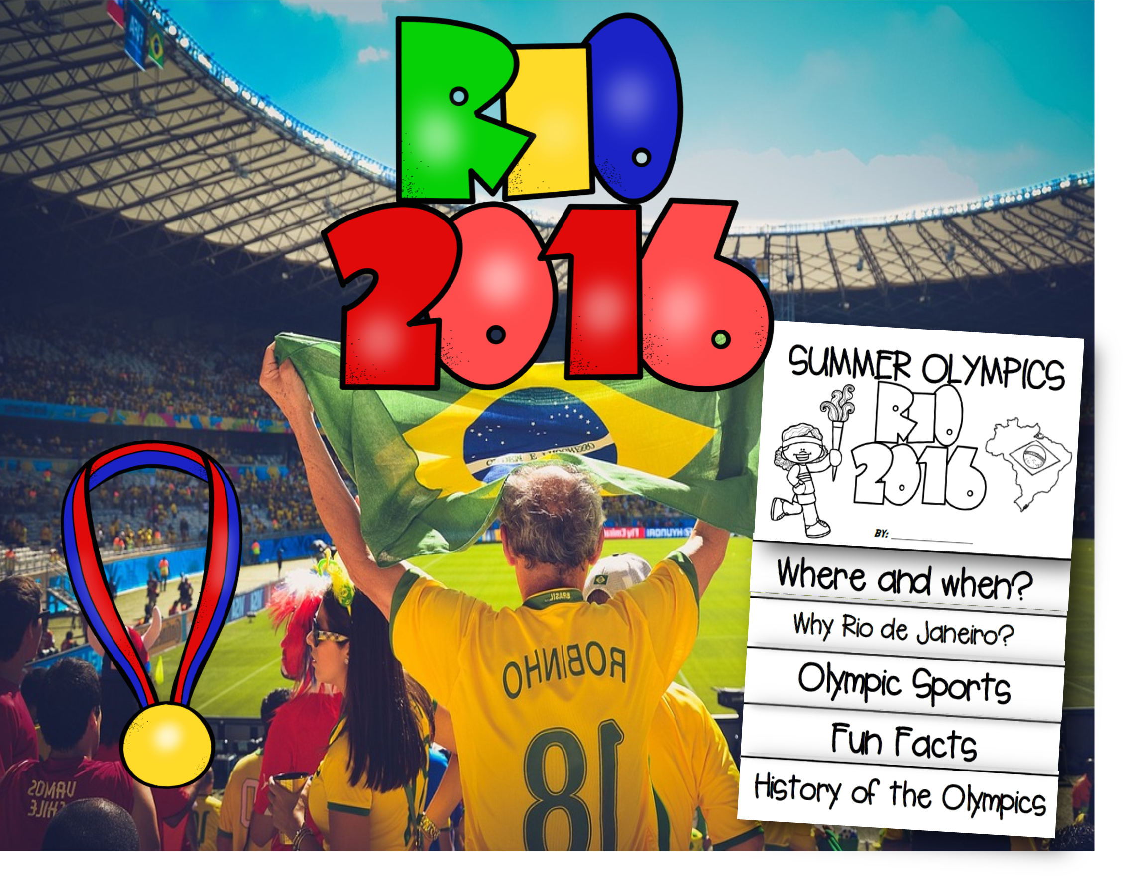 Teaching About Brazilian Culture AND the 2016 Summer Olympics