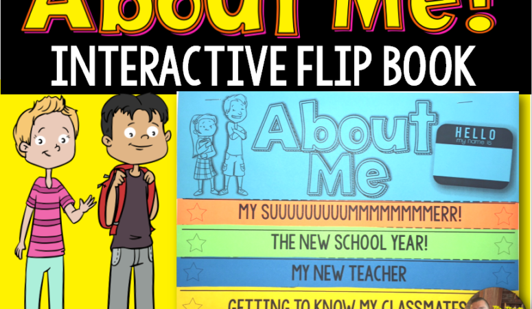 Back to School Flipbook Activity!