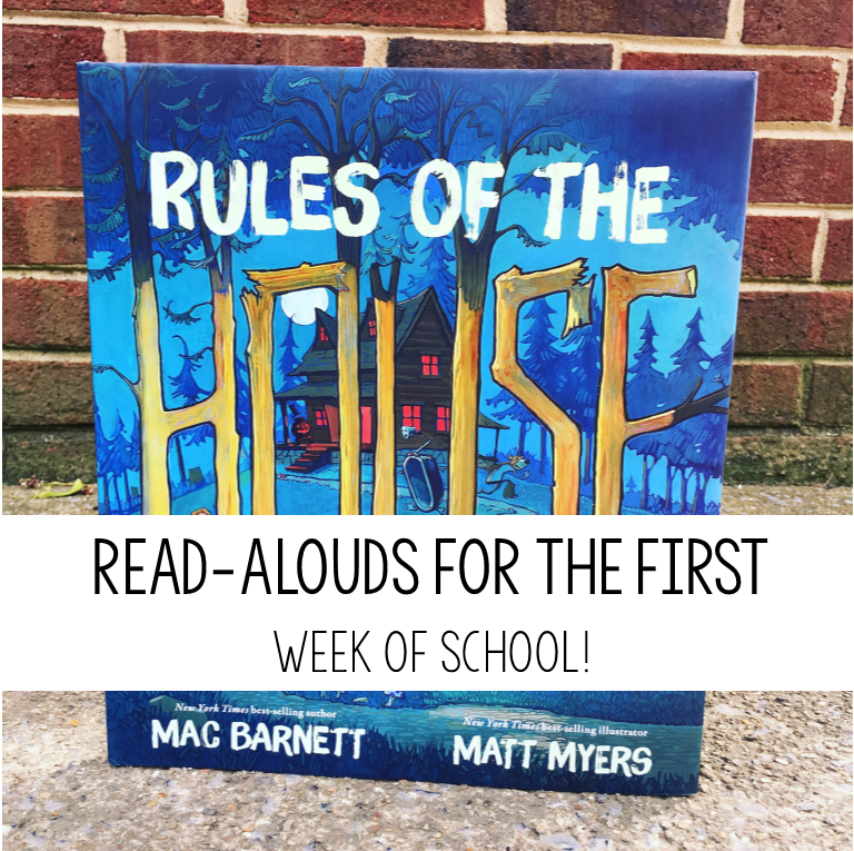 Read-Alouds for the First Day of School