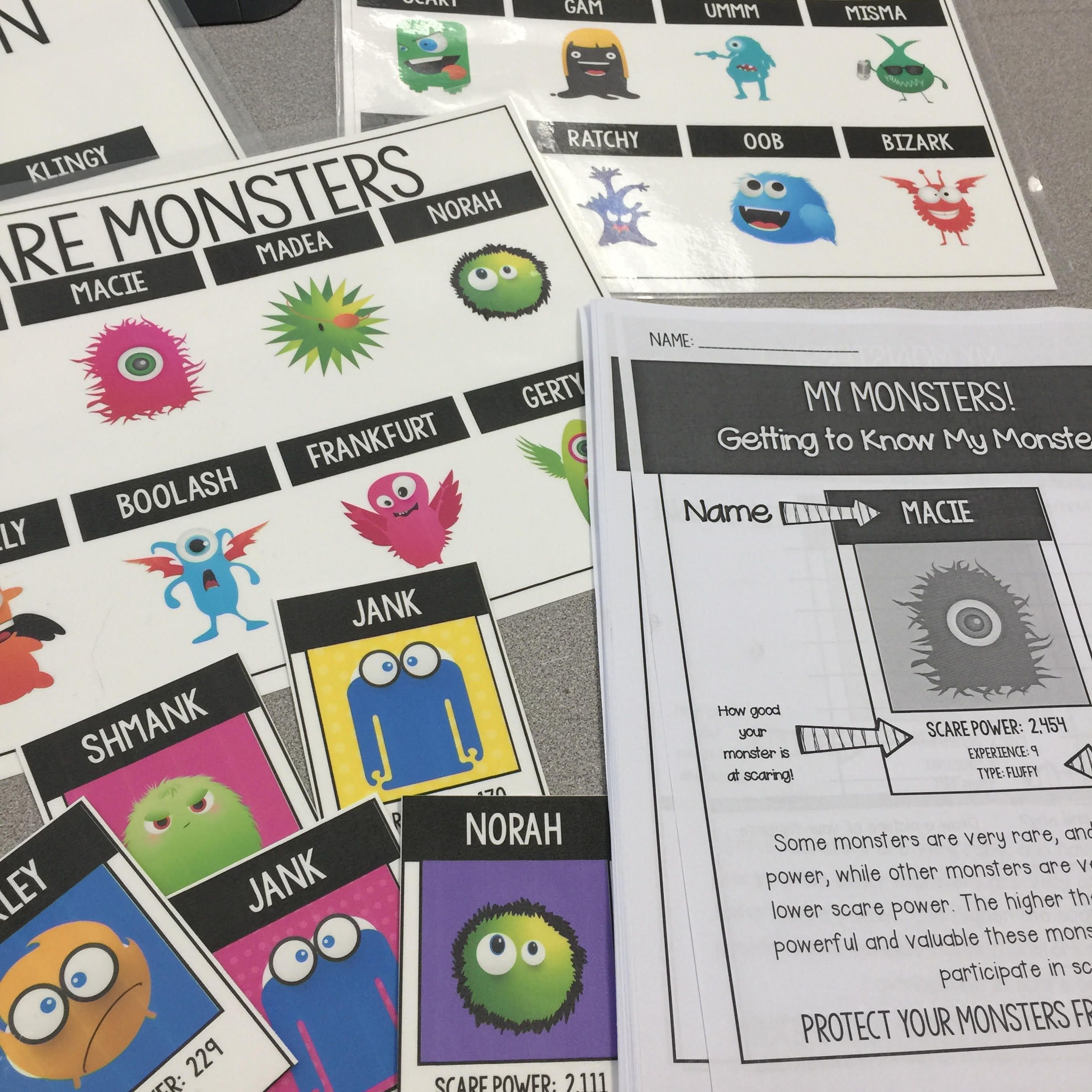 Monster Math Math game