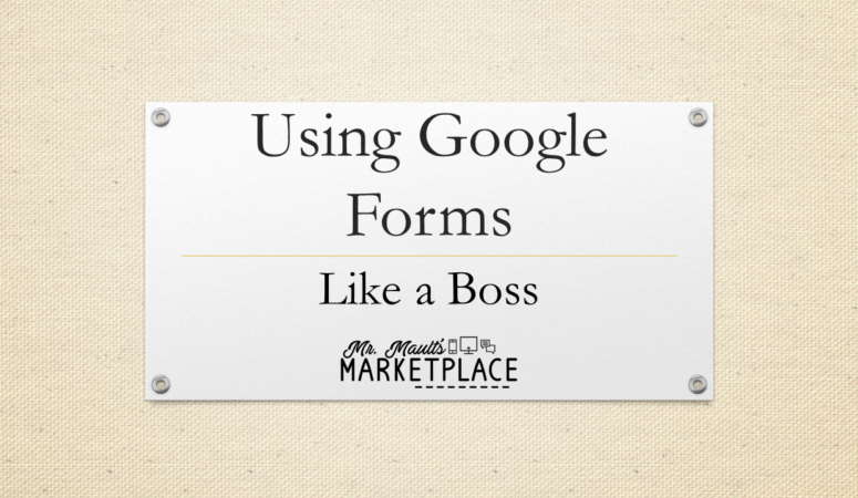 Getting Started with Google Forms