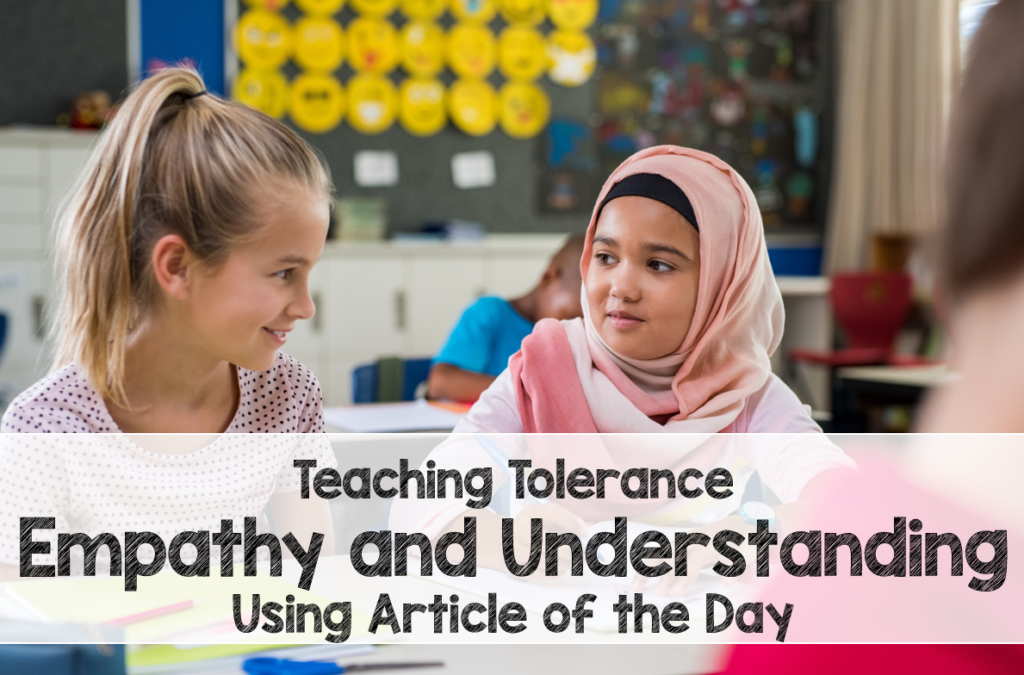 Teach Acceptance and Empathy Using Article of the Day
