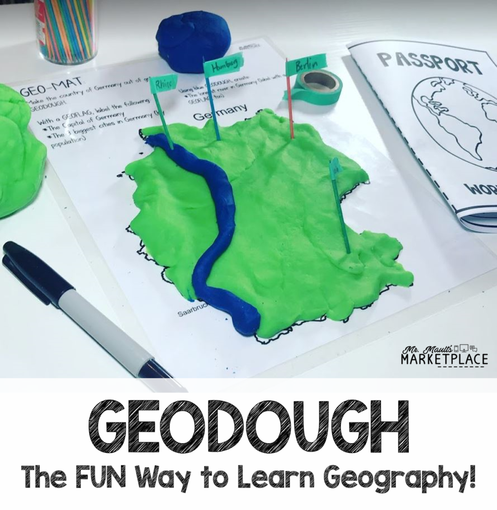 GEODOUGH the fun way to learn geography