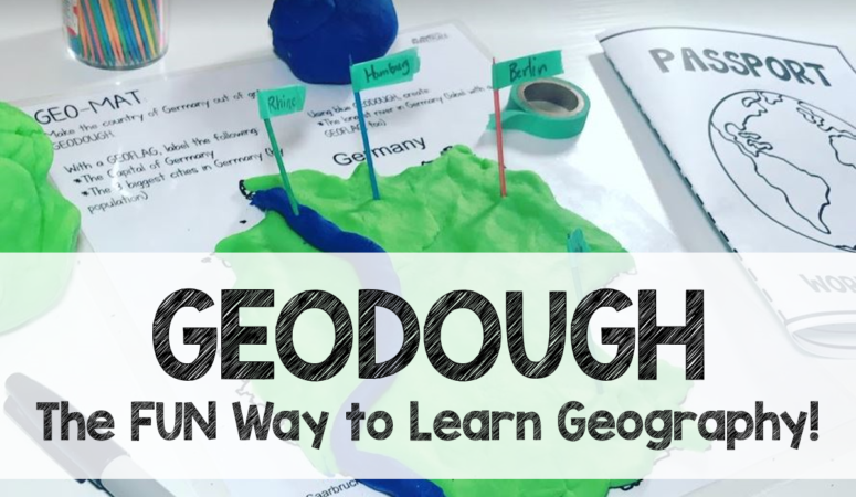Make Your Own GEODOUGH to Teach Geography