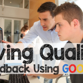 Giving Quality Feedback with Goobric and Doctopus