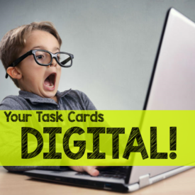 Make Your Task Cards DIGITAL with Google Forms