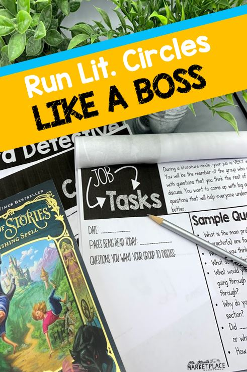 Easy Peasy Lit Circles for Grades 3-5