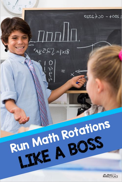 Run math Rotations (daily 3 rotations) like a boss!