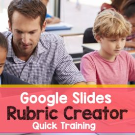 Get Your Tech On: Google Rubric Creator