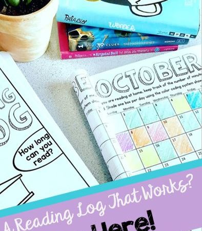 An EASY Reading Log? It's here!