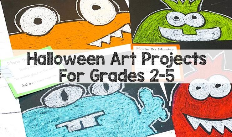 Halloween art projects for grades 3-5